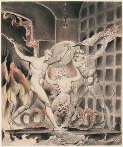 Satan, Sin and Death - Satan comes to the Gates of Hell (1807)