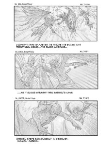 Paradise Lost storyboard - Anthony Michael Jackson