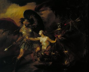 "Satan, Sin and Death (A Scene from Milton's ""Paradise Lost"") (ca. 1735-40)"