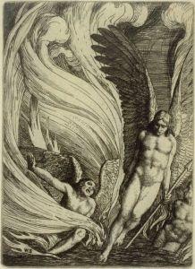 Satan Rising from the Burning Lake (1896)