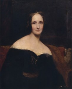 Richard Rothwell, Portrait of Mary Wollstonecraft Shelley (1840)