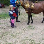 Amanda loves her pony