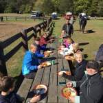 Lunch after the ride