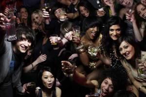 Underage drinking. Teens Drinking