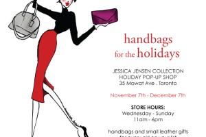 Jessica Jensen Holiday Pop Up Shop