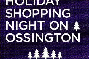 Holiday Shopping Night on Ossington. Toronto Pop Up Shop