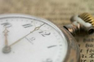 Omega old style clock. Productivity. TheSceneinTO.com