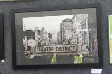 Theatre District Photography Image by local Buffalo Artist during Elmwood Avenue Festival of the Arts.
