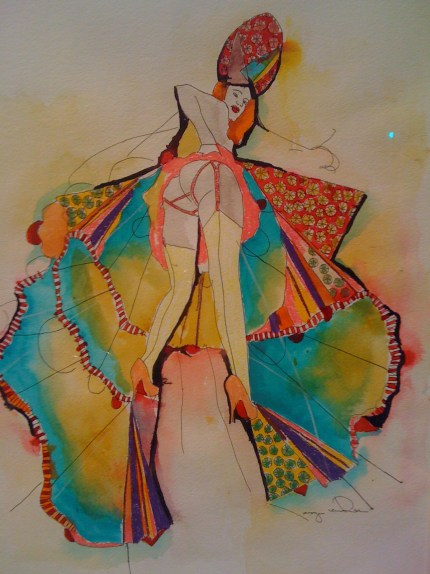 A COLORFUL STATE OF MIND FOR 2011: DIOR COUTURE and ARTIST TASYA VAN REE   The Sche Report / Margaret Sche