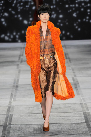 o coat isaac COLOR FORECAST:  ORANGE   The Sche Report / Margaret Sche