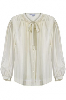 seebychloe THE 70S SILK BLOUSE KEY ITEM FOR FALL   The Sche Report / Margaret Sche