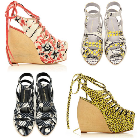 6a00e5508e95a988330133f433e9a2970b 640wi1 SPRING 2011 SHOE COLLABORATIONS TO COVET   The Sche Report / Margaret Sche