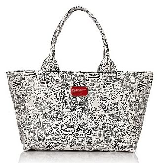 doodle tote 2 TREND REPORT:  DOODLES by ALEXANDER WANG   The Sche Report / Margaret Sche