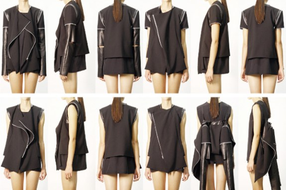 rad hourani transmformations 2 Simply RAD  RAD HOURANIS SPRING/SUMMER 2011 COLLECTION   The Sche Report / Margaret Sche