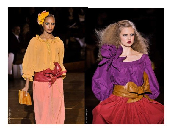 peasant blouse 6 TREND REPORT 2011:  YSL PEASANT BLOUSE REVISITED   The Sche Report / Margaret Sche