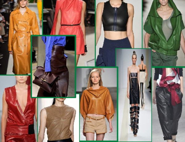 buttery soft leather 1 SPRING/SUMMER 2011 TOP 10 TRENDS:  #6 LIGHTWEIGHT LEATHERS   The Sche Report / Margaret Sche