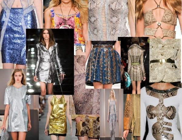 snakes skin clothing 11 SPRING/SUMMER 2011 TOP 10 TRENDS: #9 PREDATOR PRINTS   The Sche Report / Margaret Sche