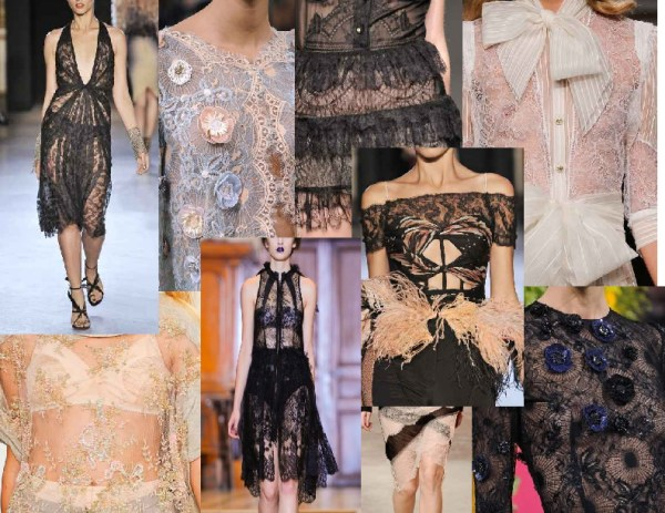 untitled document 1 SPRING/SUMMER 2011 TOP TEN TRENDS:  #10 LACE   The Sche Report / Margaret Sche