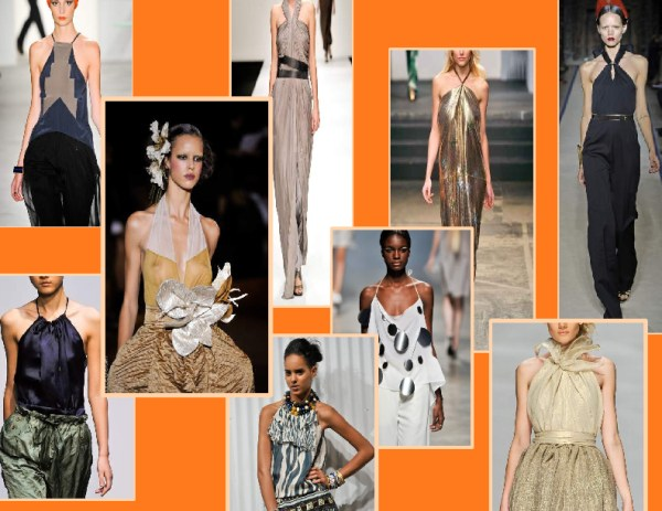 70s   halter top dresses 1 SPRING/SUMMER 2011 TOP 10 TRENDS:  #1 THE 70S FULL FORCE   The Sche Report / Margaret Sche