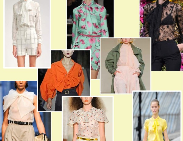 bow   shirt 1 SPRING/SUMMER 2011 TOP 10 TRENDS:  #2 THE SHIRT   The Sche Report / Margaret Sche
