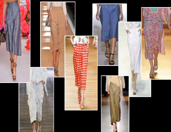 kulottes 1 SPRING/SUMMER 2011 TOP 10 TRENDS:  #5 TROUSERS   The Sche Report / Margaret Sche
