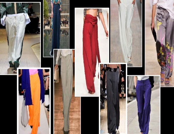 long loose 1 SPRING/SUMMER 2011 TOP 10 TRENDS:  #5 TROUSERS   The Sche Report / Margaret Sche