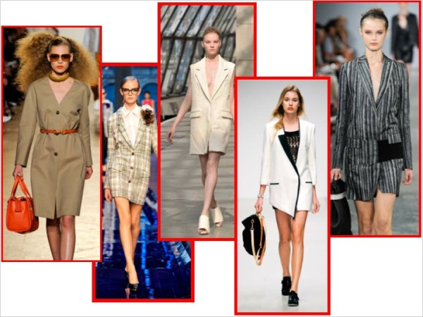 1 TREND ALERT:  THE BLAZER DRESS   The Sche Report / Margaret Sche