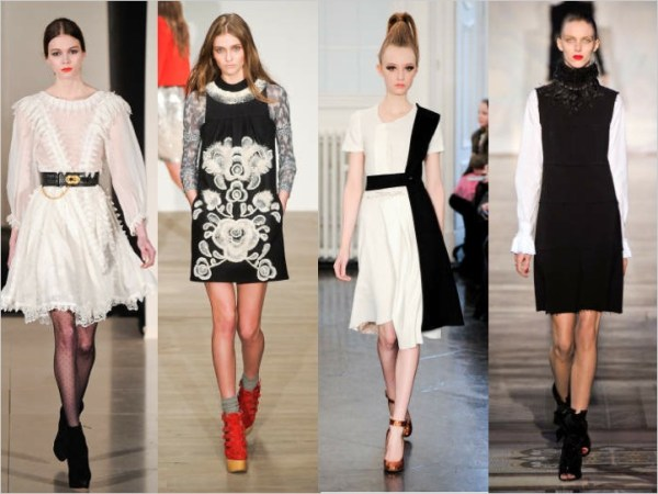 19 LONDON SETS A TREND:  BLACK & WHITE FOR FALL 2011   The Sche Report / Margaret Sche