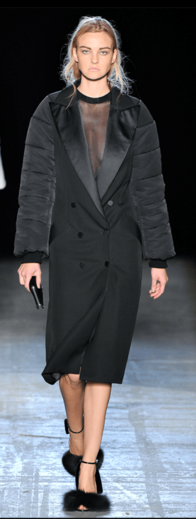 NYFW ACCESSORIES ALERT: FUR TRIMS AND SPECIALTY TIGHTS   The Sche Report / Margaret Sche