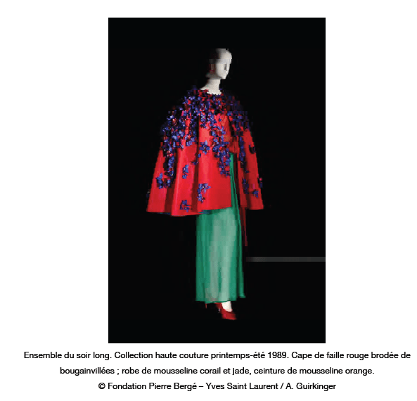 03 cape from press kit YSL AND MOROCCO:  A RELATIONSHIP OF LOVE   The Sche Report / Margaret Sche