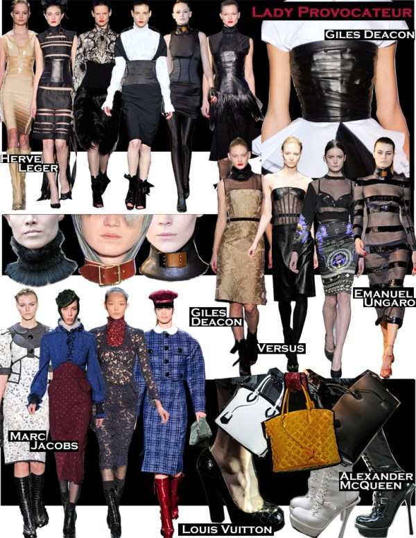 lady provocateur FALL 2011 TOP 10 TRENDS:  #10 LADY PROVOCATEUR   The Sche Report / Margaret Sche