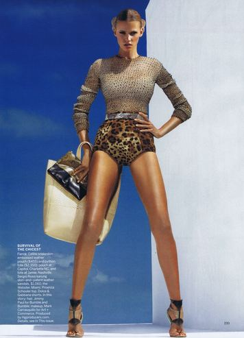 62 WE SAW IT FIRST! TREND VALIDATION: SUMMER SNAKESKINS   The Sche Report / Margaret Sche