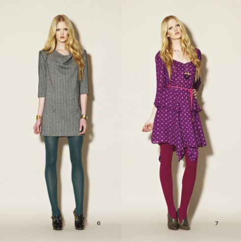 clc fall 4 FALL 2011 TREND ALERT: COLORED TIGHTS   The Sche Report / Margaret Sche