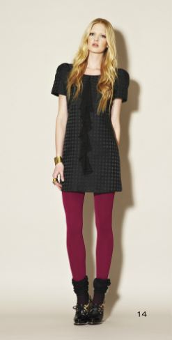 clc fall 6 FALL 2011 TREND ALERT: COLORED TIGHTS   The Sche Report / Margaret Sche