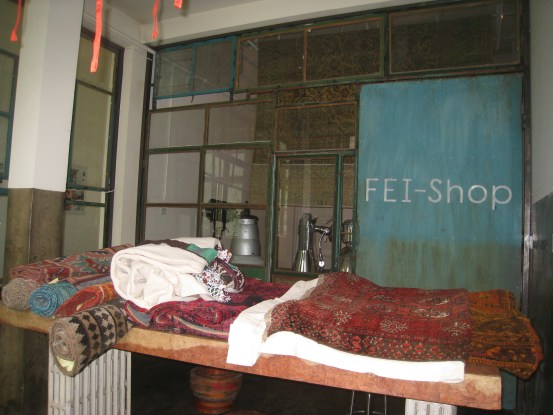 RETAIL REVIEW:  FEI SHOP, BEIJING   The Sche Report / Margaret Sche