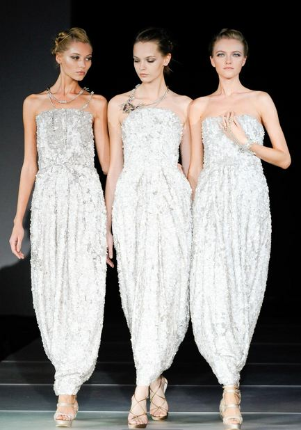 armanis angels S/S 2012 MILAN TOP 5 COLLECTIONS   The Sche Report / Margaret Sche