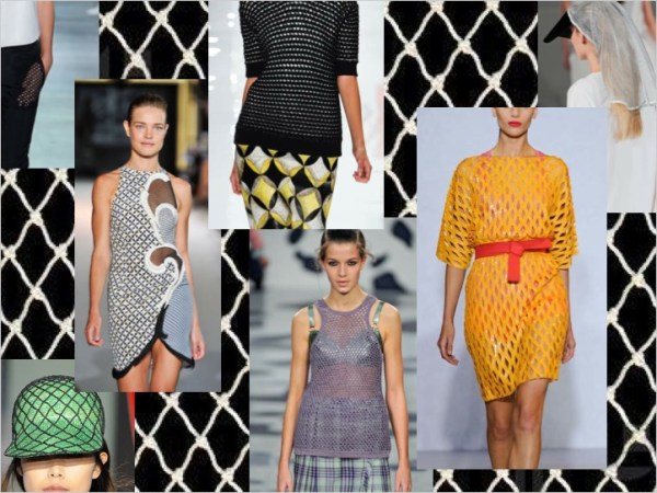 1 SPRING 2012 TREND ALERT: MESH UP   The Sche Report / Margaret Sche