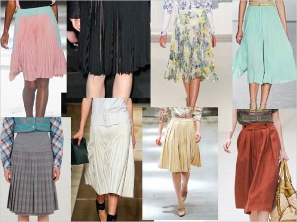 skirt S/S 2012 TREND ALERT: PRETTY PLEATS   The Sche Report / Margaret Sche