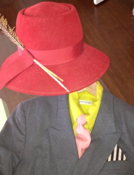 TREND ALERT: FLOPPY HATS MIXED WITH MENSWEAR STYLE   The Sche Report / Margaret Sche