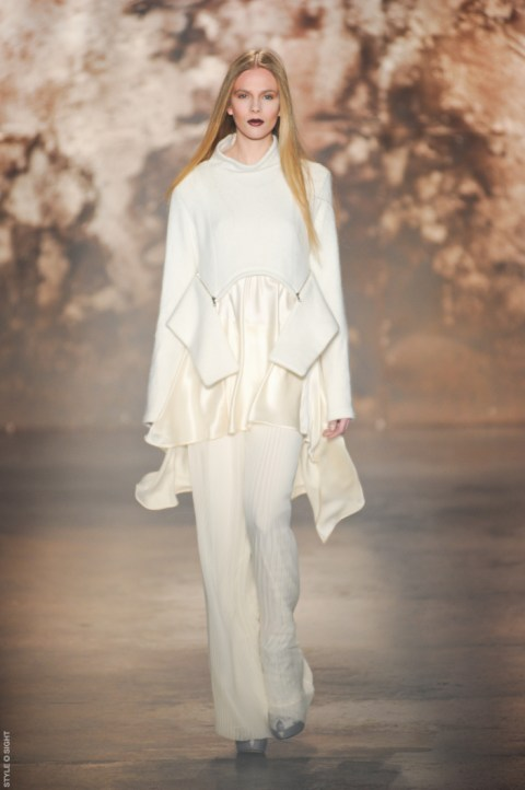 1 sally lapointe lall nf12 005 F/W12 NYFW TREND ALERT: WHITE OUT   The Sche Report / Margaret Sche