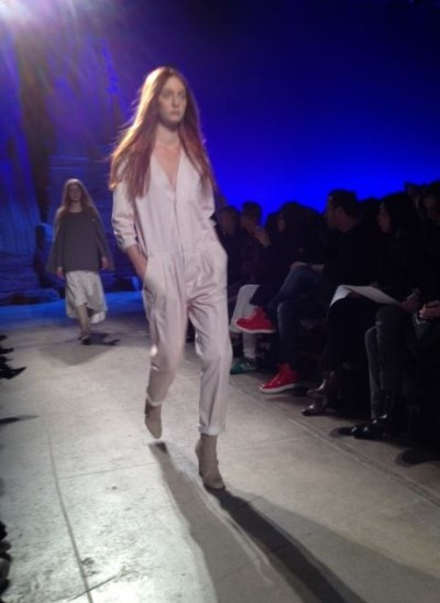 band of outsiders flight suit 2 FW2012 NYFW TREND ALERT: FLIGHT SUITS ON THE RUNWAY   The Sche Report / Margaret Sche