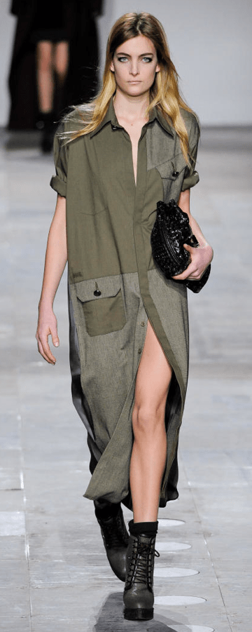 screen shot 2012 02 23 at 10 42 04 am FALL 2012 TREND ALERT:  ARMY GREEN   The Sche Report / Margaret Sche