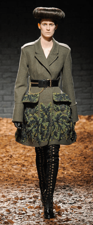 screen shot 2012 02 23 at 11 01 37 am FALL 2012 TREND ALERT:  ARMY GREEN   The Sche Report / Margaret Sche