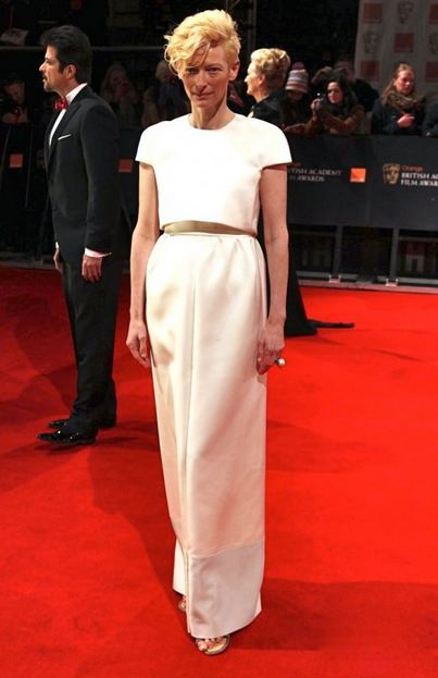 tilda swinton celine baptas F/W12 NYFW TREND ALERT: WHITE OUT   The Sche Report / Margaret Sche