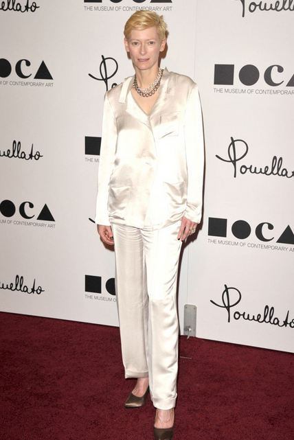 tilda swinton pomellato lanvin F/W12 NYFW TREND ALERT: WHITE OUT   The Sche Report / Margaret Sche