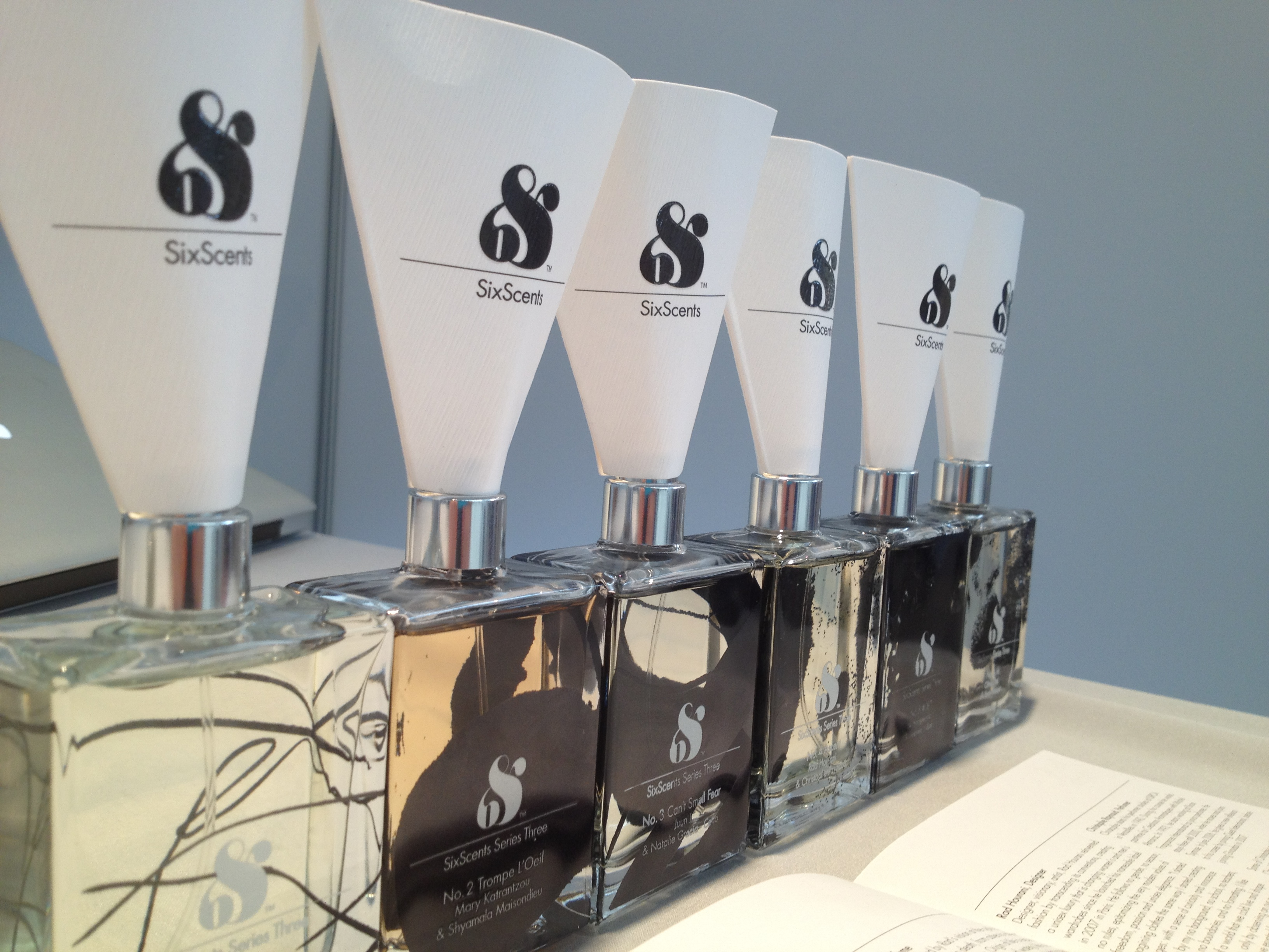 A BEAUTIFUL COLLABORATION: SIX SCENTS   The Sche Report / Margaret Sche