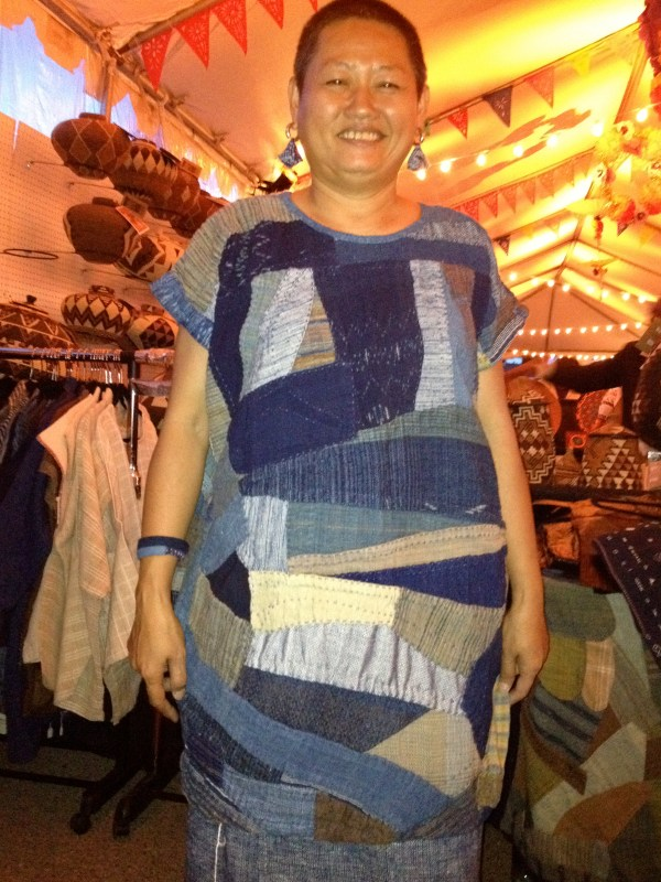 img 4310 SANTA FE FOLK ART FESTIVAL PART 3:  INDIGO/DENIM TRENDS   The Sche Report / Margaret Sche
