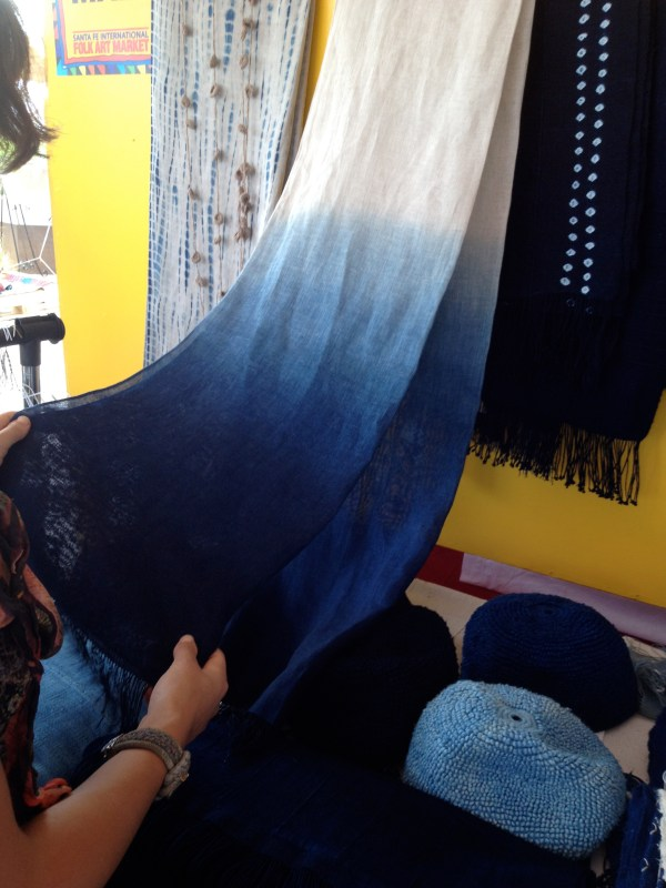 img 4378 SANTA FE FOLK ART FESTIVAL PART 3:  INDIGO/DENIM TRENDS   The Sche Report / Margaret Sche