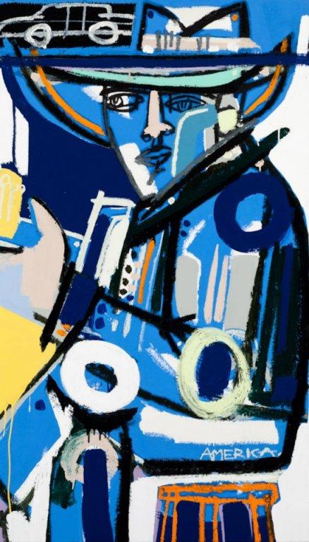 524318 422376507814925 2045111419 n STUDIO VISIT WITH ARTIST AMERICA MARTIN   The Sche Report / Margaret Sche