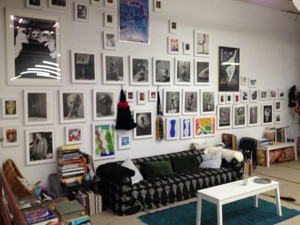 img 36711 STUDIO VISIT WITH ARTIST AMERICA MARTIN   The Sche Report / Margaret Sche